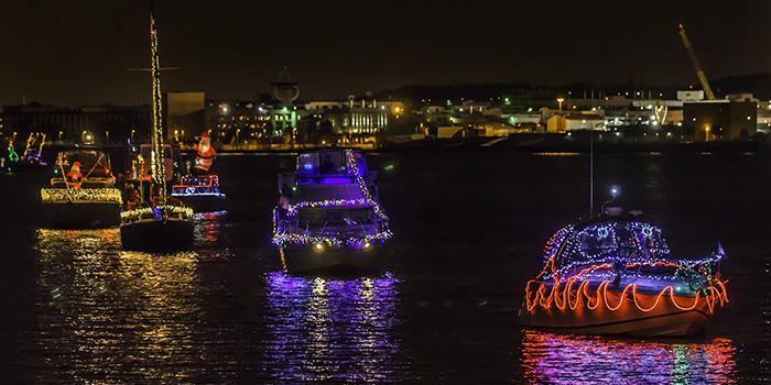 Christmas Illuminated Boat Parade
