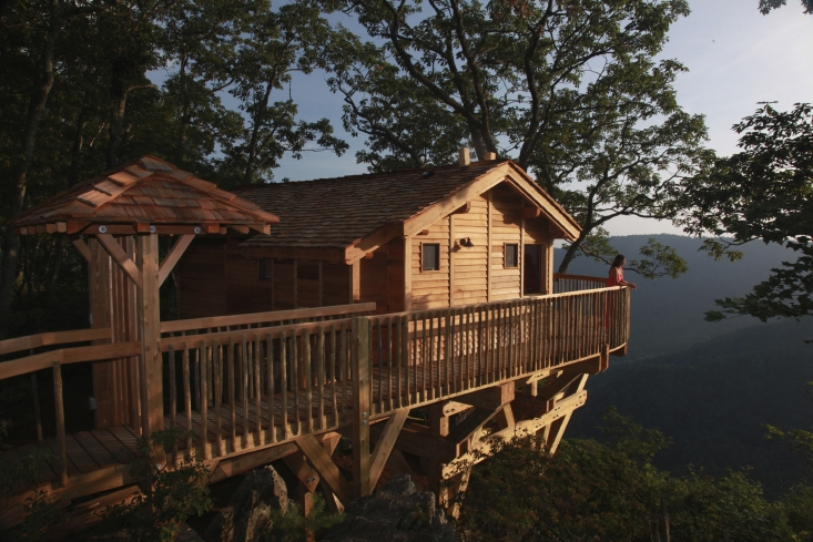 Named after the Golden Eagle, a legally protected species in the United States, the Treehouse is a lodge is overlooking the Dan River gorge and Primland's award winning golf course. Virginia Tourism Corporation, www.Virginia.org