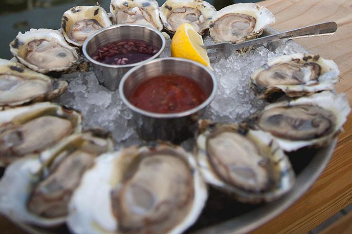 Merroir oysters