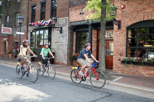 Biking Alexandria