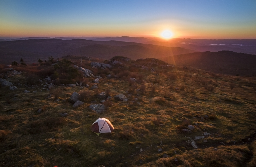 Camping at Mount Rogers