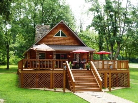 pebble beach river cabin