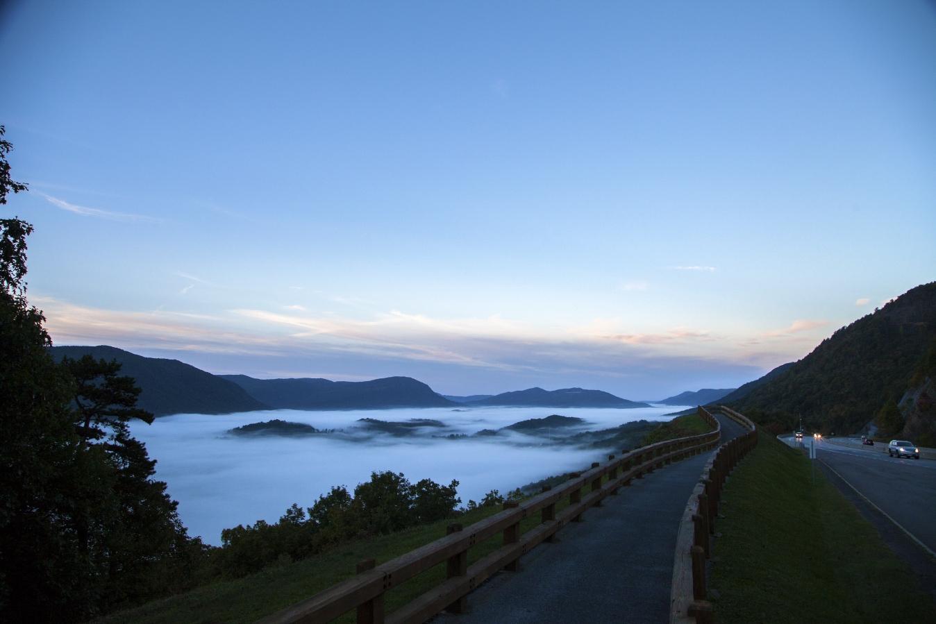 Scenic Overlook in Wise