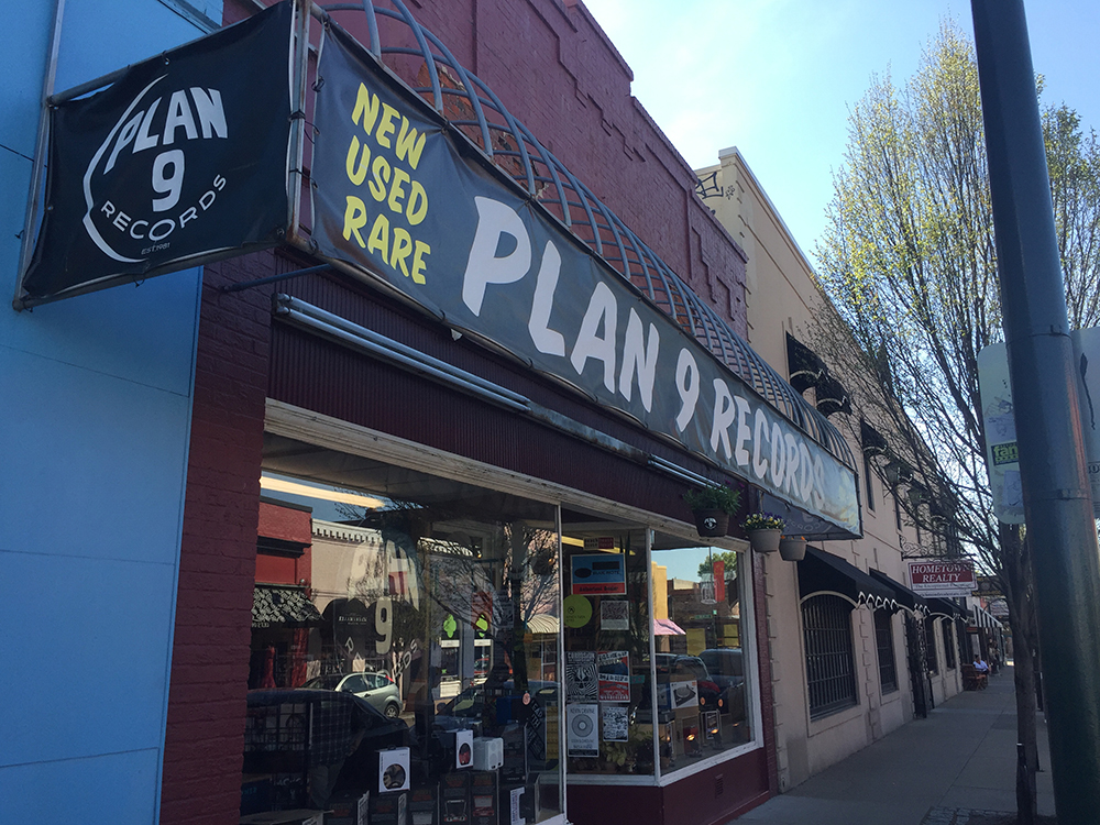 Plan 9 Records in Richmond