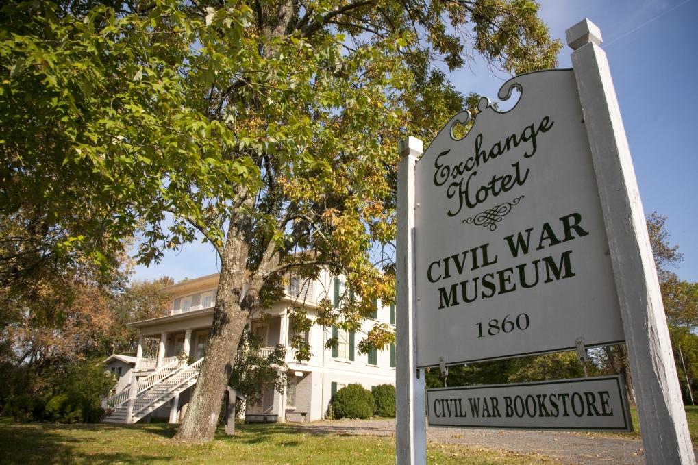 Civil War Museum at the Exchange Hotel in Gordonsville.