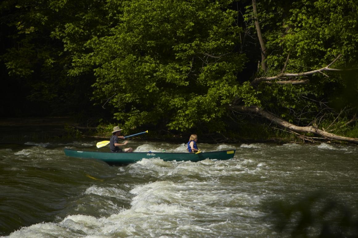 Shenandoah River kayaking