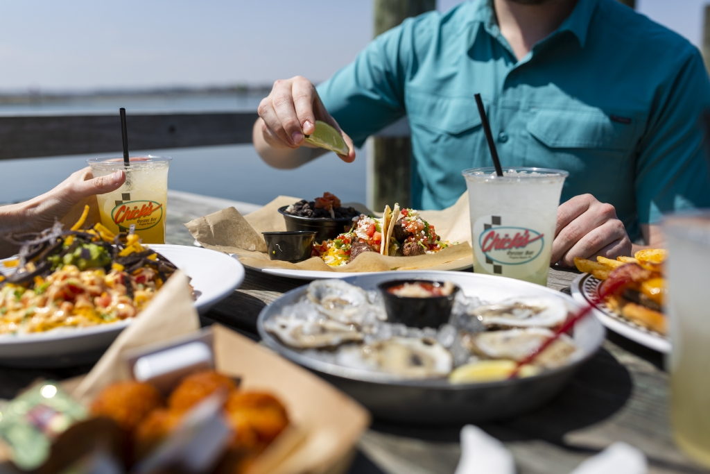 Chick's Oyster Bar is a laid-back hangout with a rustic clam shack vibe. They have a waterside deck and serve simple seafood and cold beer.