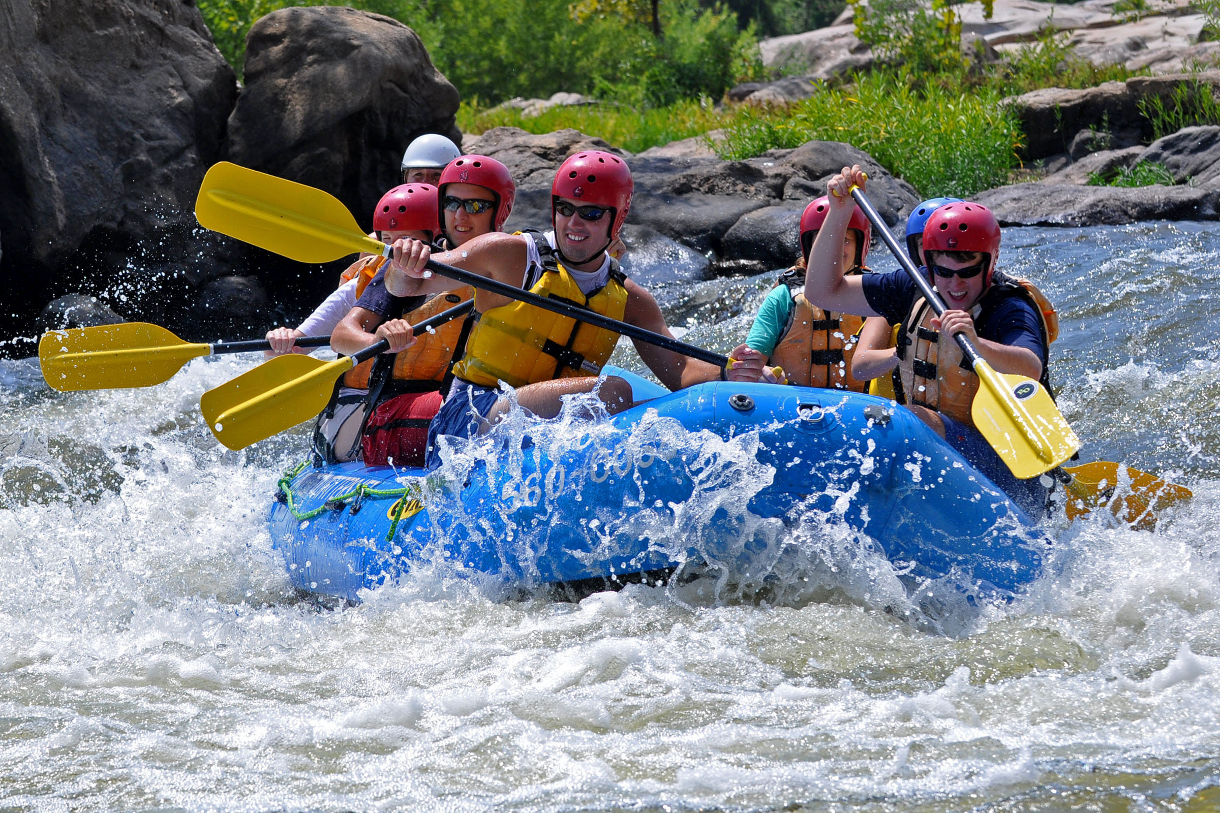 Riverside Outfitters Rafting Trip