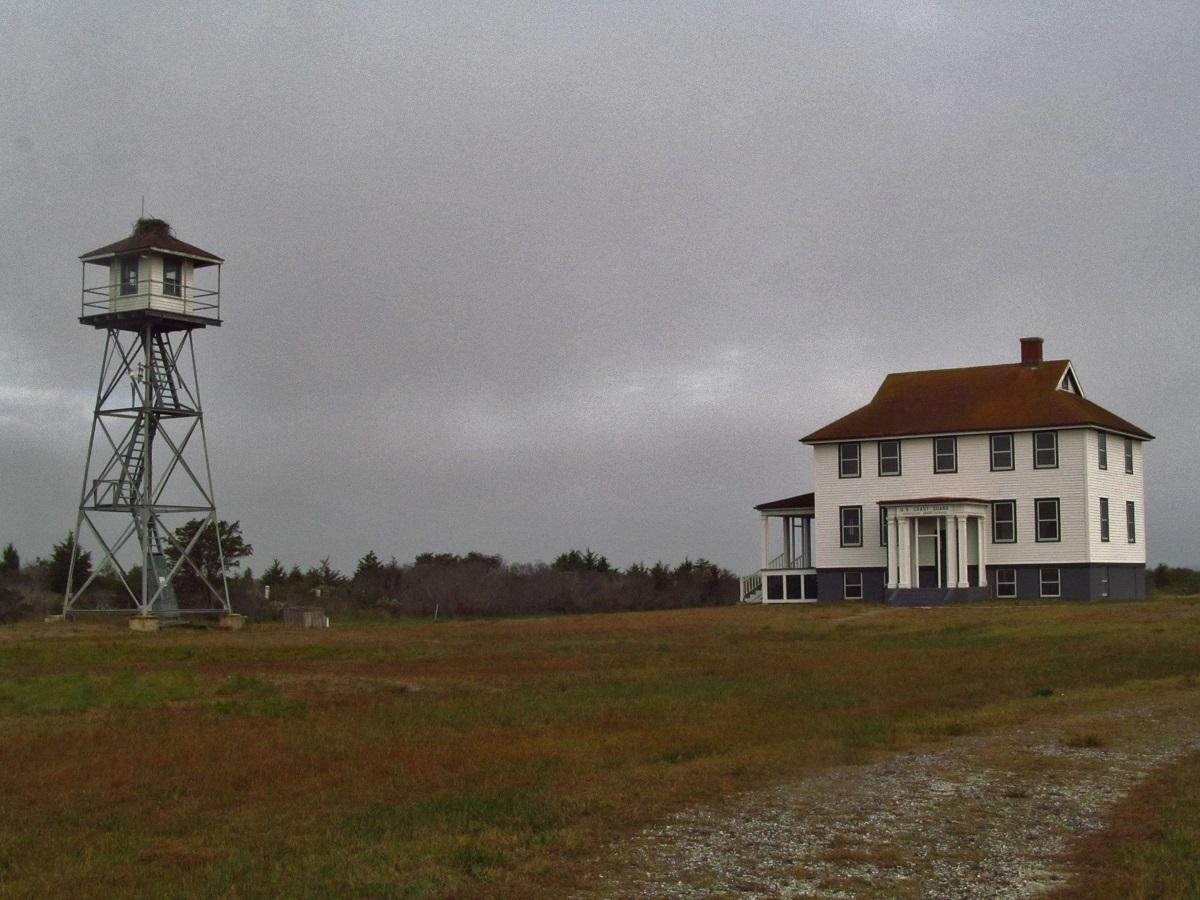 Assateague Island Old Assateague Coast Guard Station