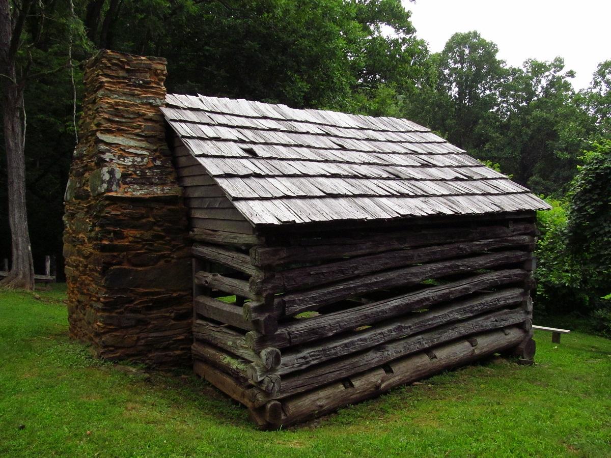 Blue Ridge Parkway Trail Cabin