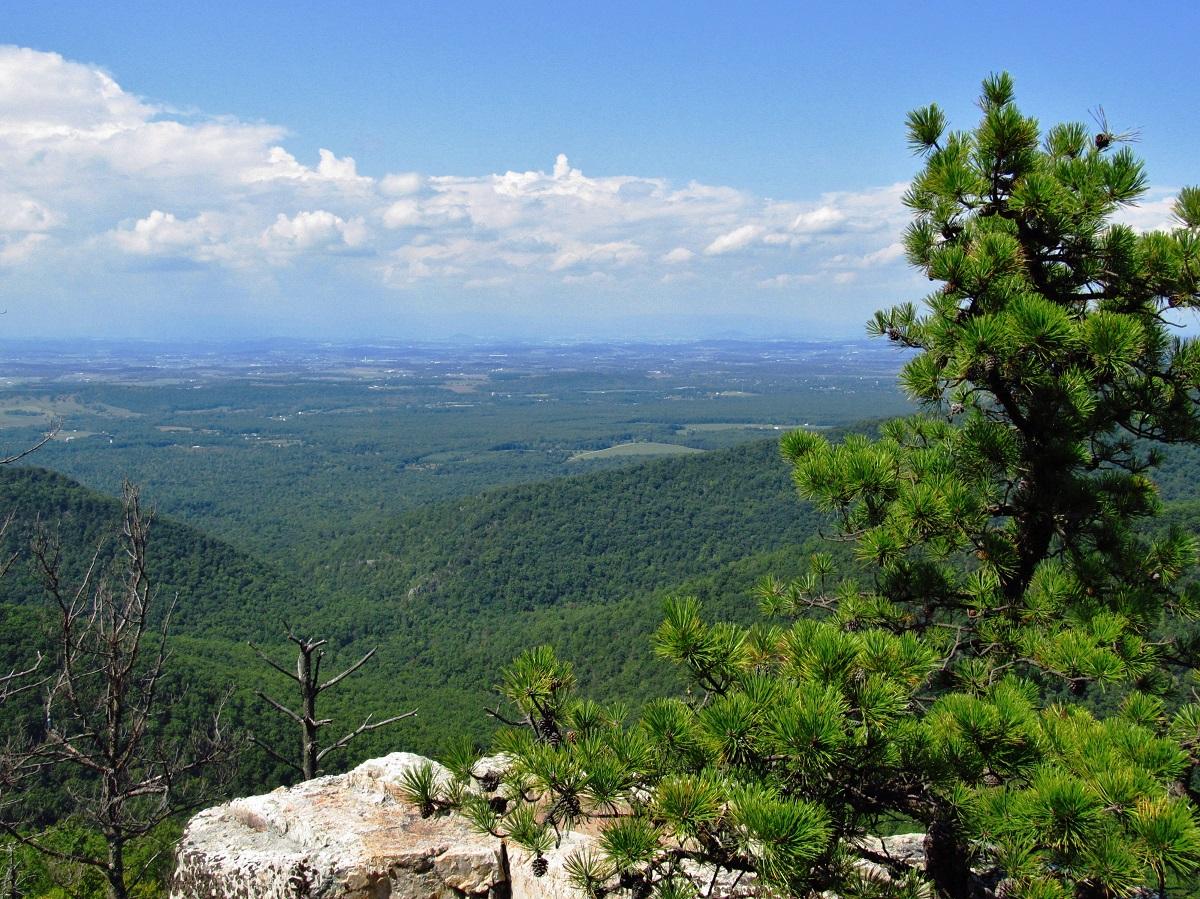 Shenandoah National Park Chimney Rock