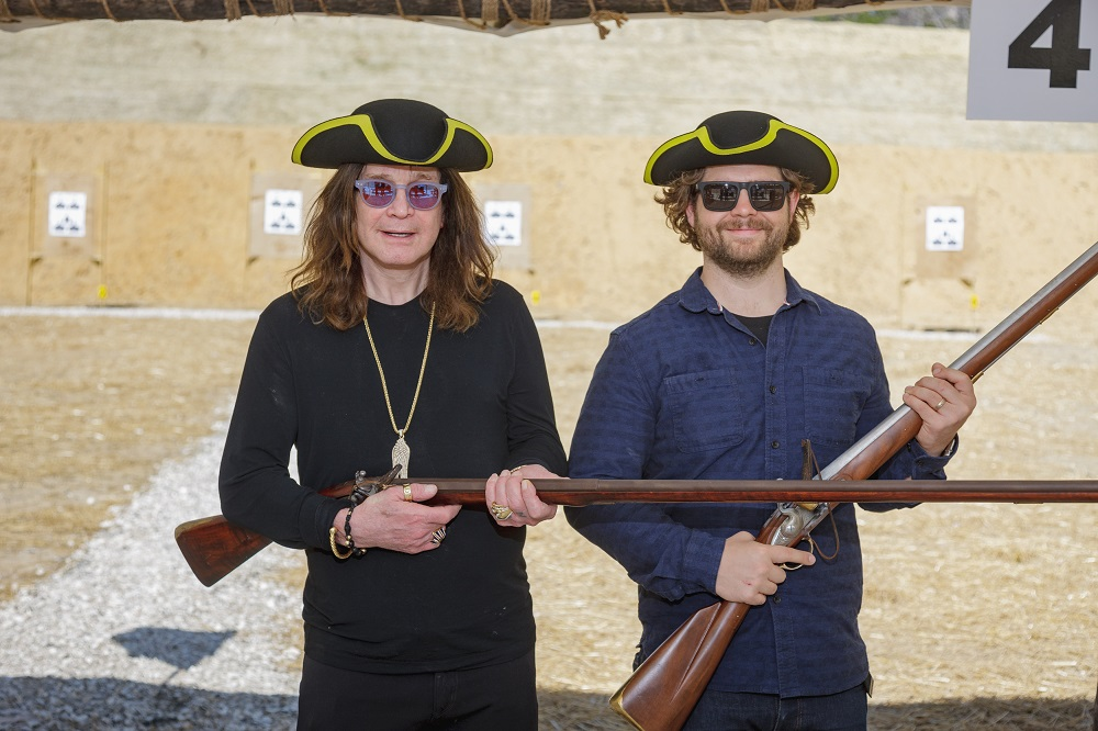 Ozzy and Jack Musket Range