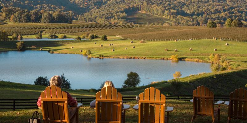 virginia winery in fall