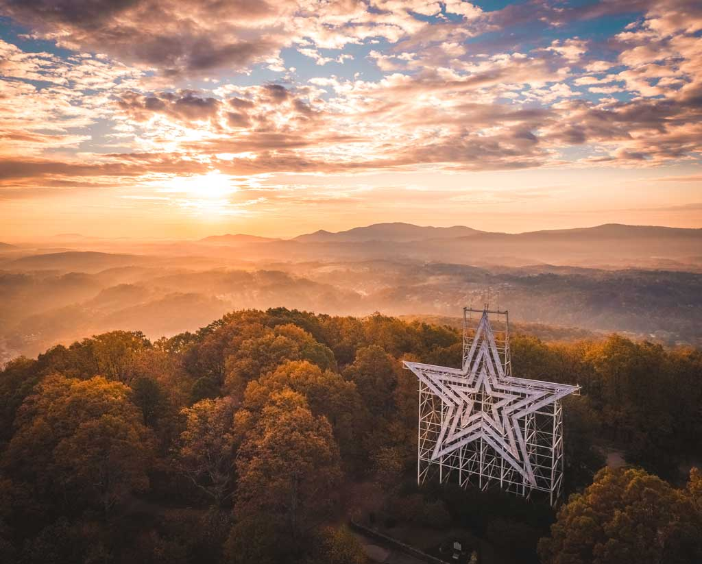 Roanoke Mill Mountain Star