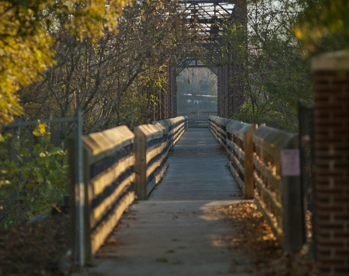 Scenes Along the Dan River in Danville