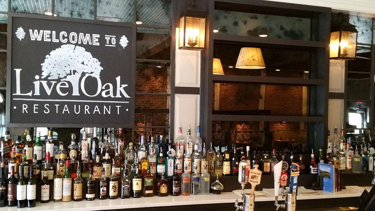 Live Oak bar and restaurant