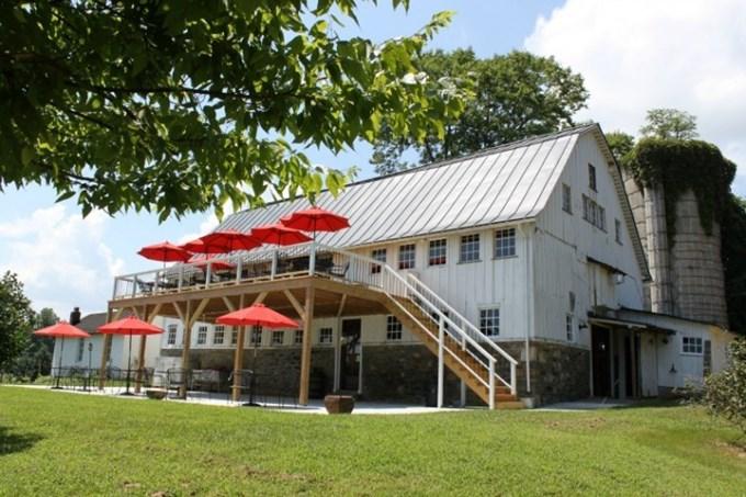 barns at hamilton station vineyard and winery