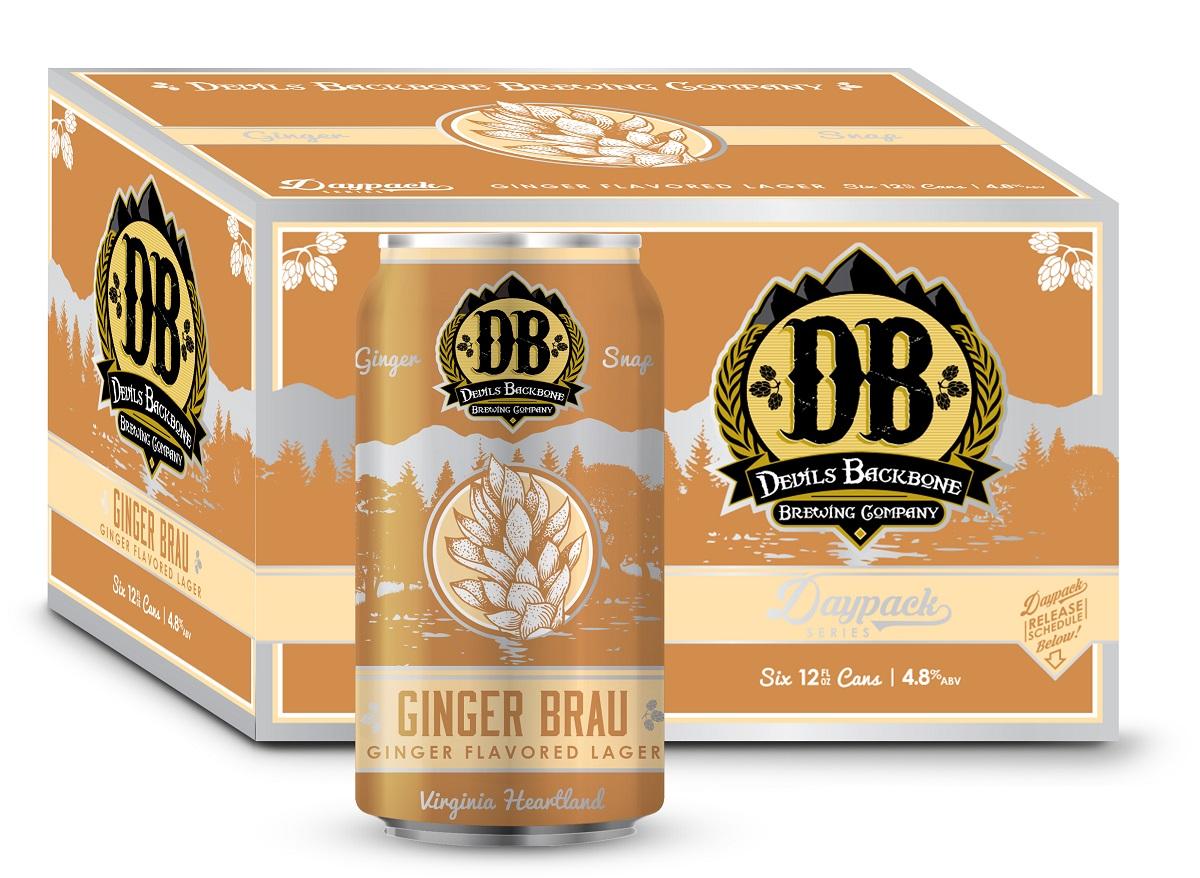 Gingerbrau devils backbone beer
