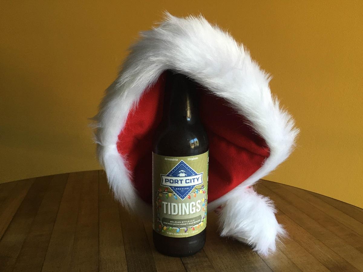 port city tidings ale beer