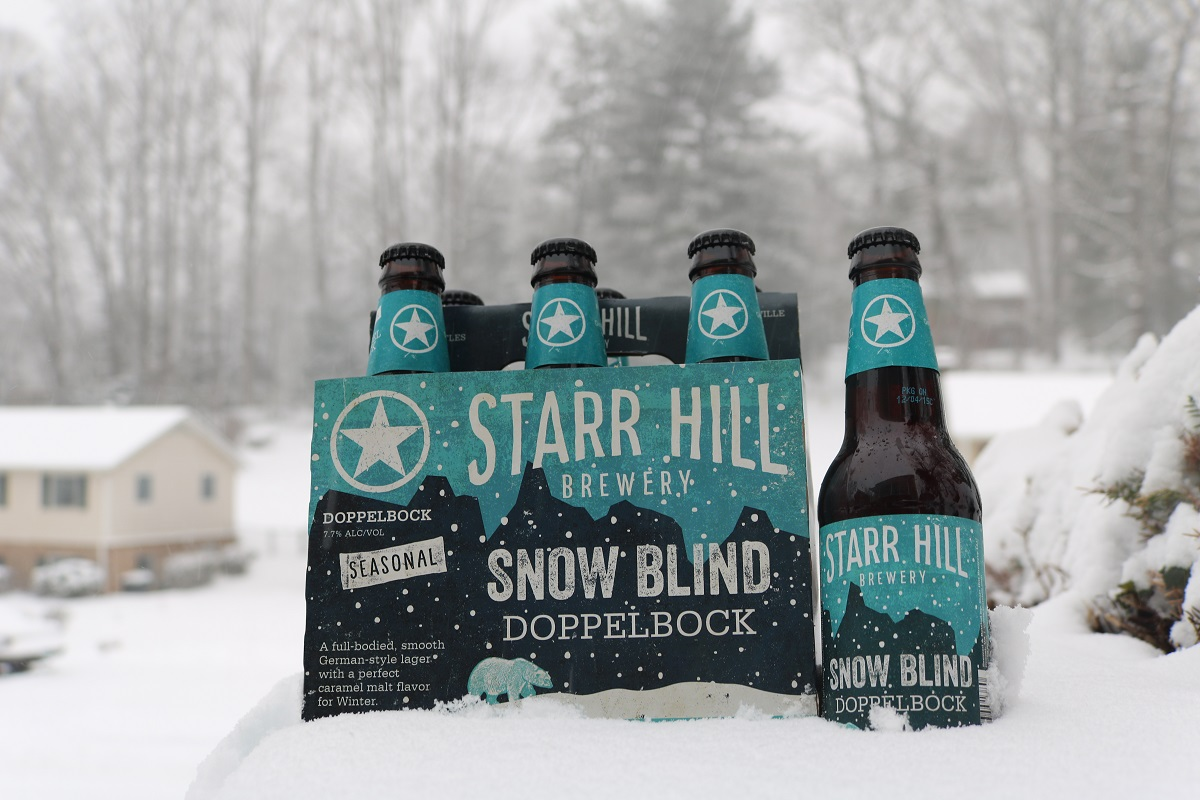 starr hill snow blind beer