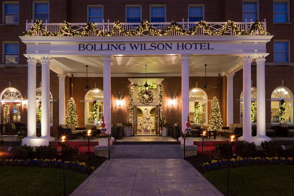 Bolling Wilson christmas exterior