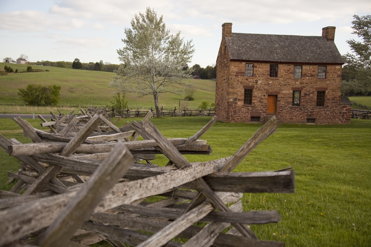 The Stone House at Manassas National Battlefield Park
