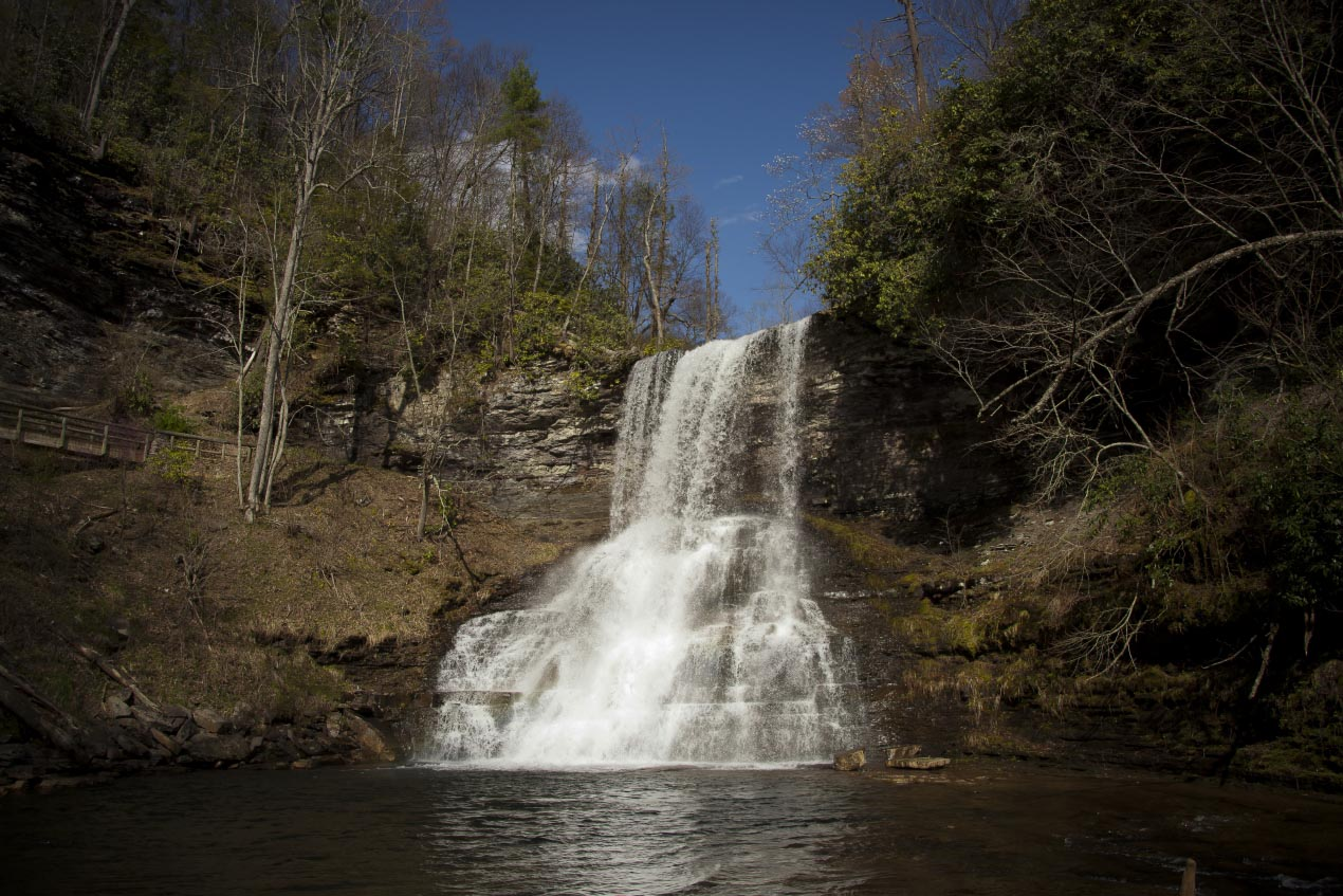 Cascade Falls and Trail