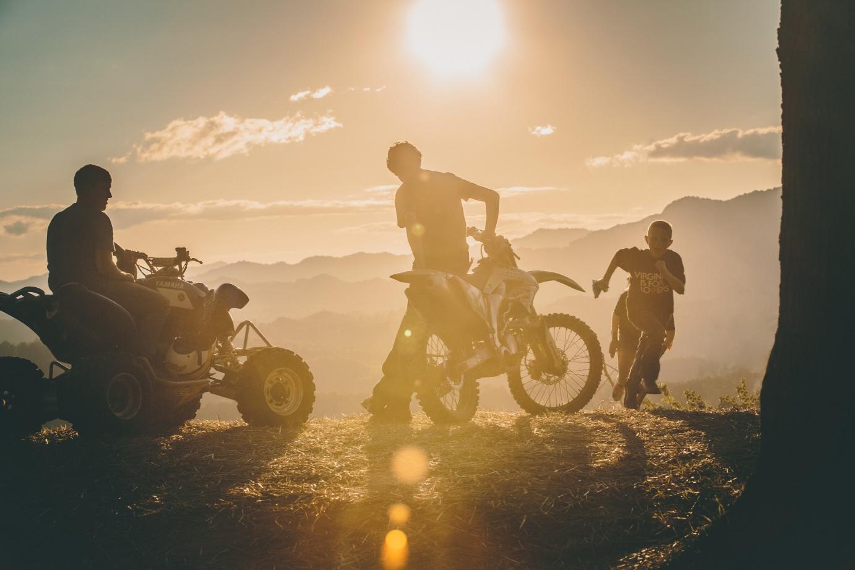ATV and Motorcross riders