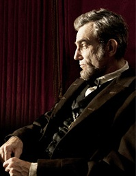 Daniel Day-Lewis stars at Abraham Lincoln in LINCOLN.