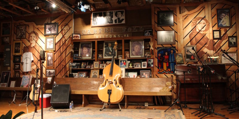 Carter Family Fold stage