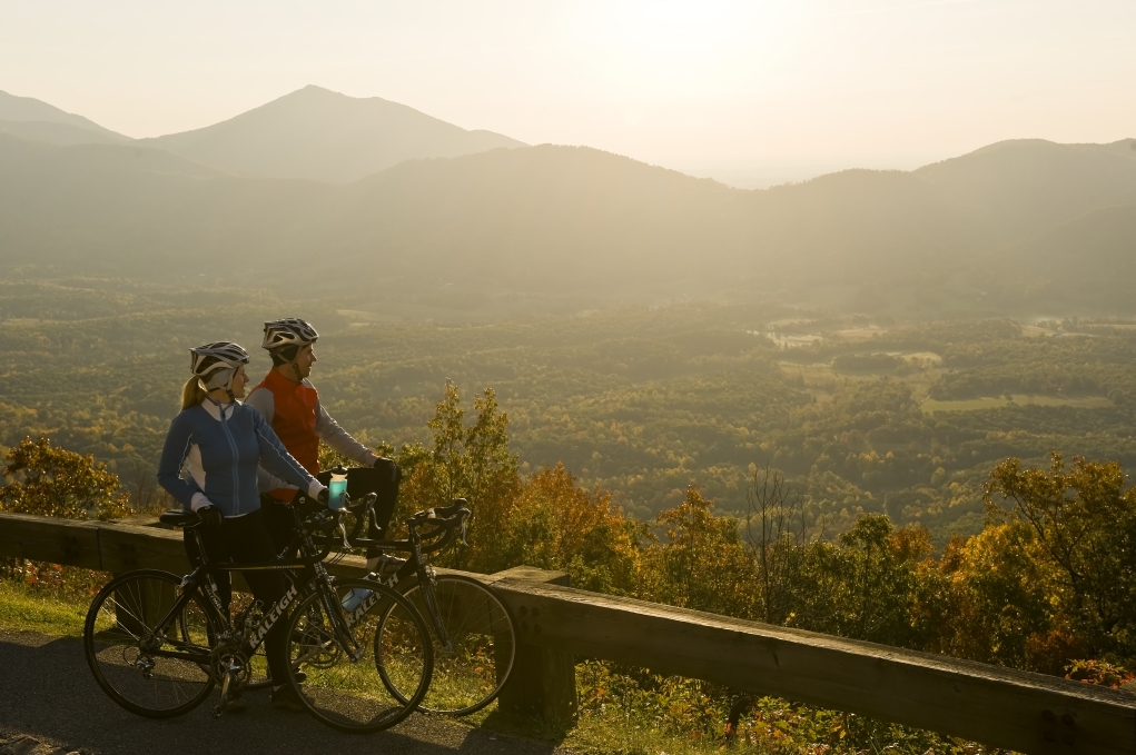 Bicycling on the Blue Ridge Parkway
