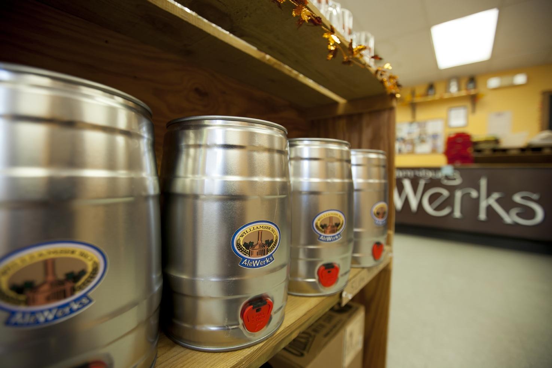 Williamsburg Alewerks brewing