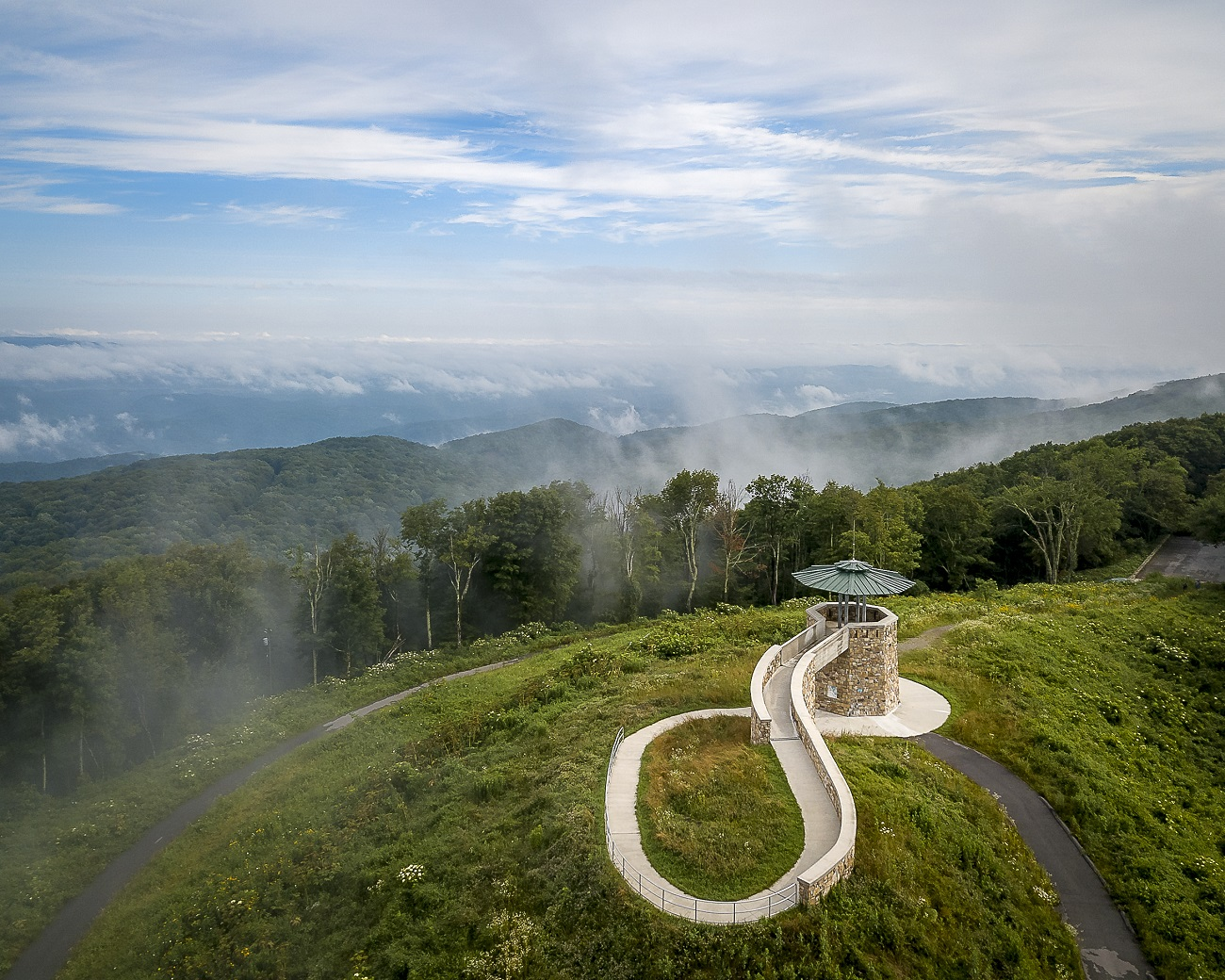 High Knob Scenic Tower