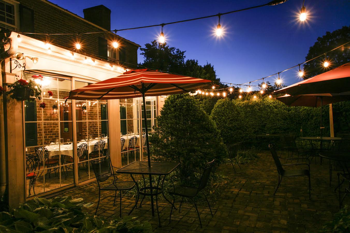 Maple Hall Inn patio