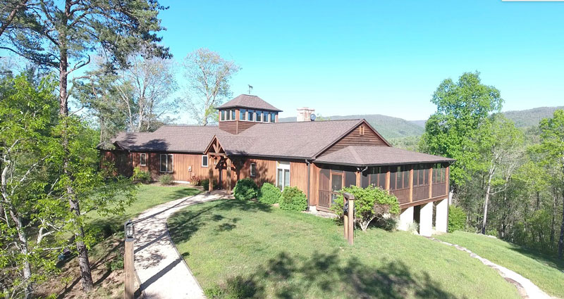 Winding Ridge Mountain Cabin