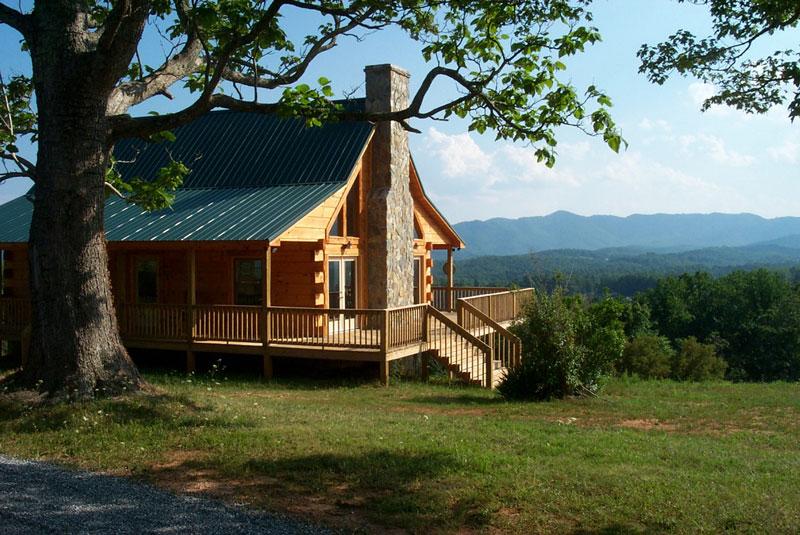 rebels roost mountain cabin rental