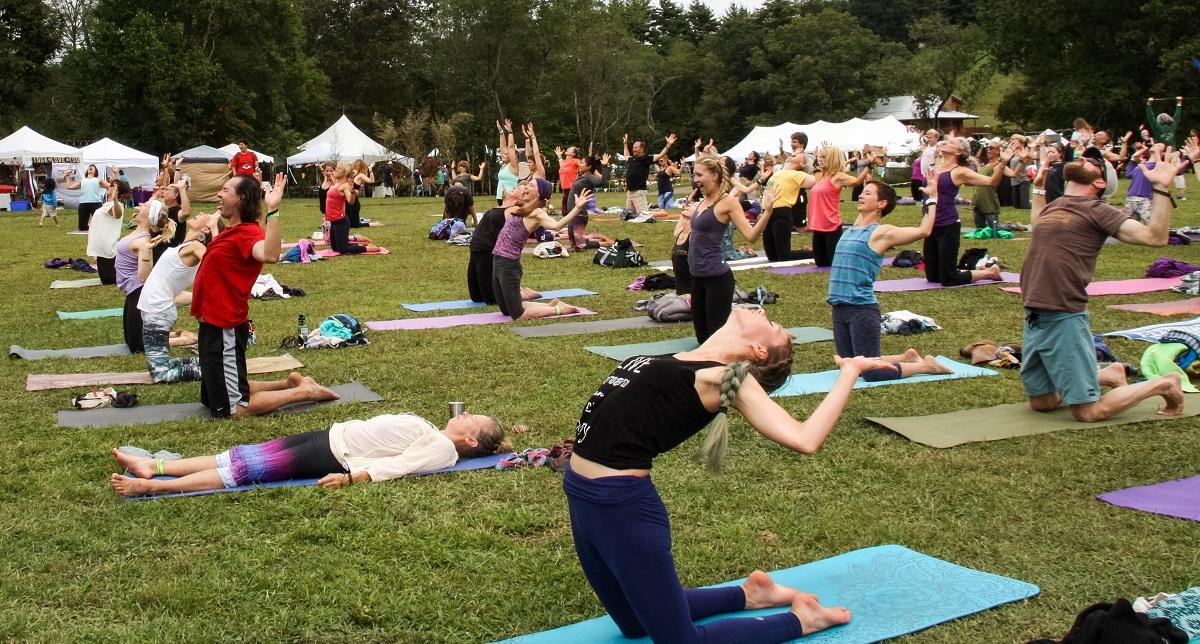 Floyd Yoga Jam Festival