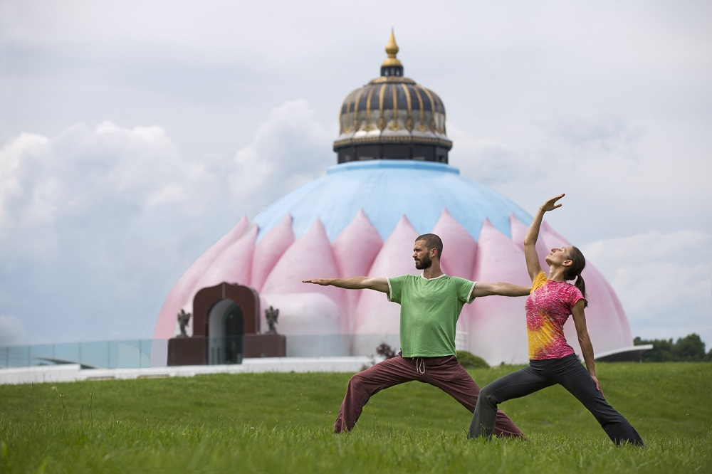 LOTUS Meditation Shrine yogaville