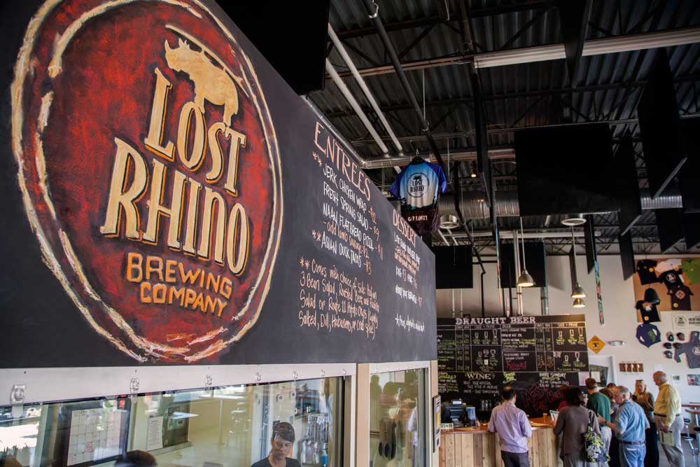 lost rhino brewery