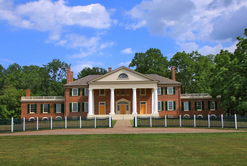Montpelier was the lifelong home of James Madison, president of the United States, Father of the Constitution, and architect of the Bill of Rights.