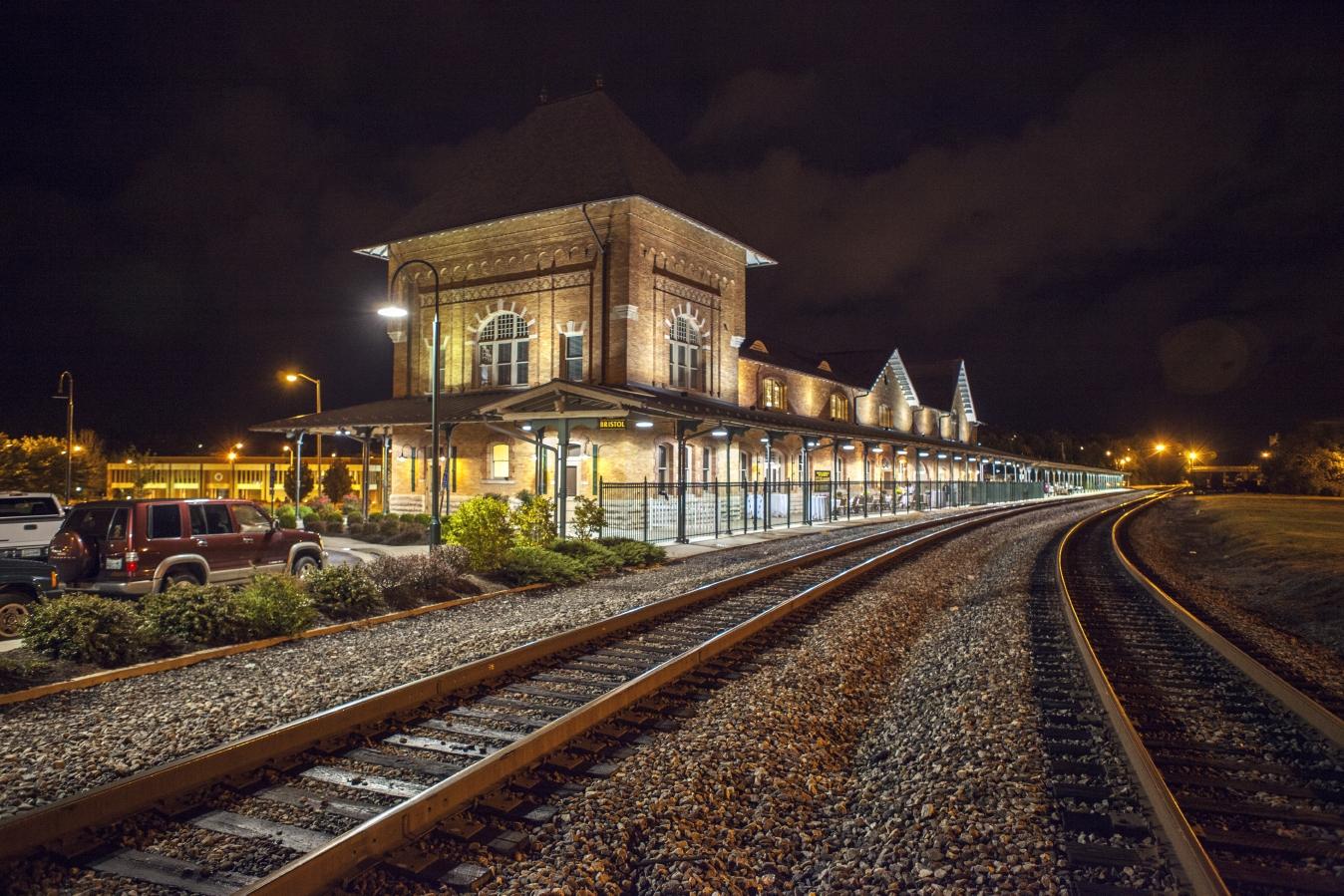 Historic Bristol Train Station
