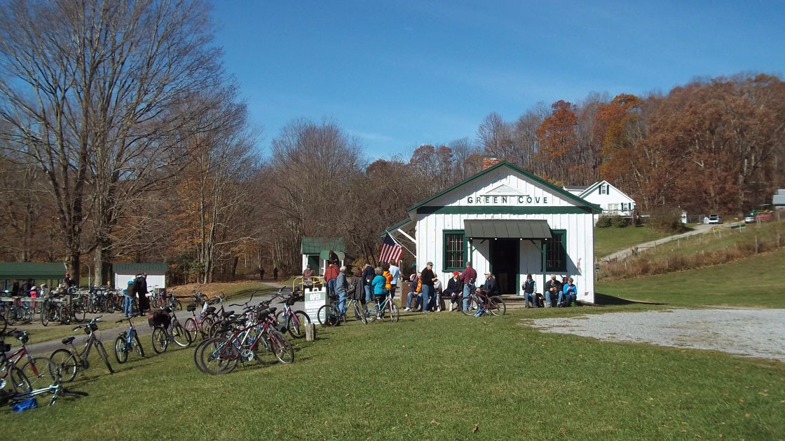 Virginia Creeper Trail Green Cove Station