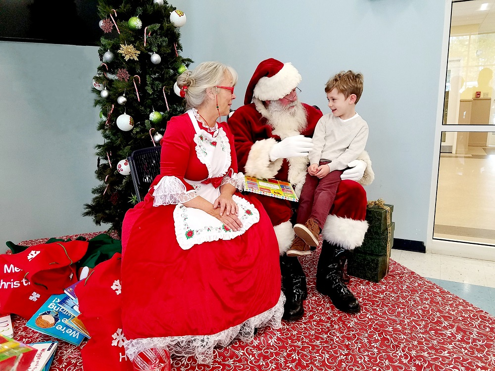 Louisa County Breakfast with Santa