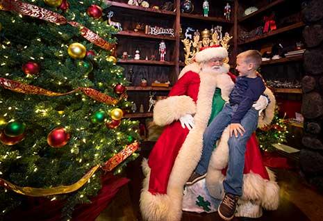 Santa at Busch Gardens