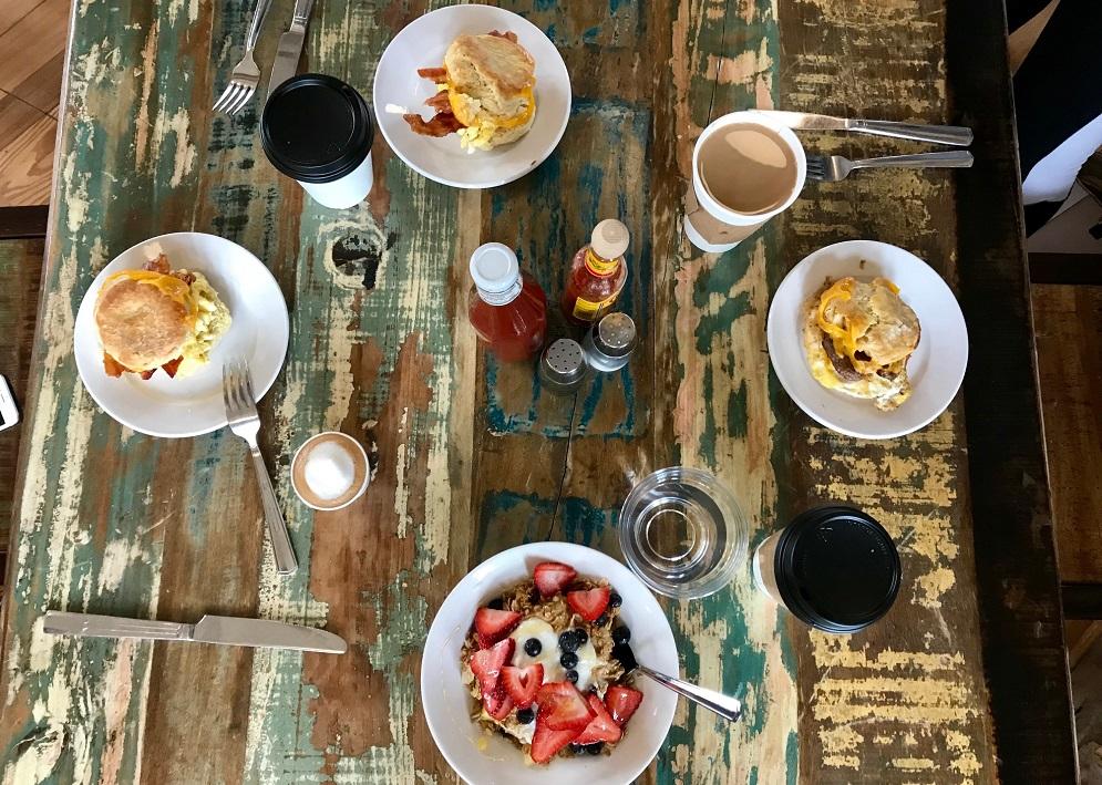 devils backbone the summit breakfast