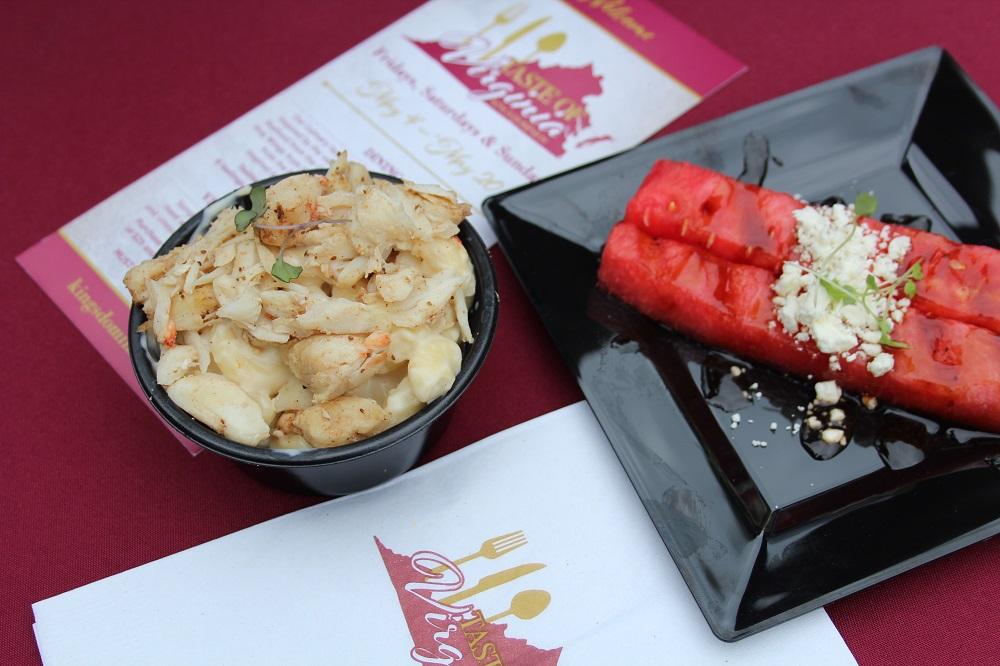 Taste of Virginia Kings Dominion food festival