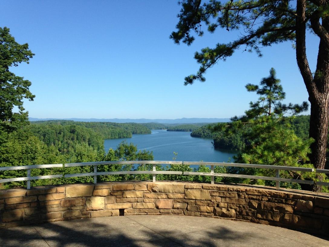 Philpott Lake Dam and Overlook