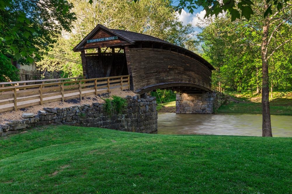 alleghany humpback bridge