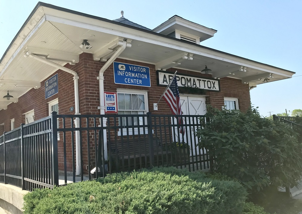 appomattox visitor center
