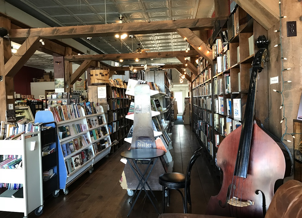 baine's book store and coffee shop appomattox